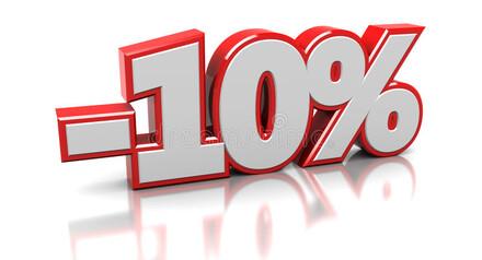 Специально для майского бракосочетания действует скидочка -10 %