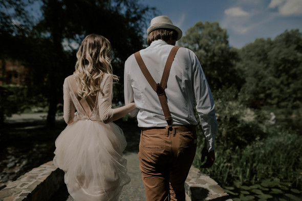Вова и Аня, Wedding day - фото №17