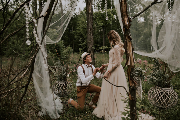 Вова и Аня, Wedding day - фото №43