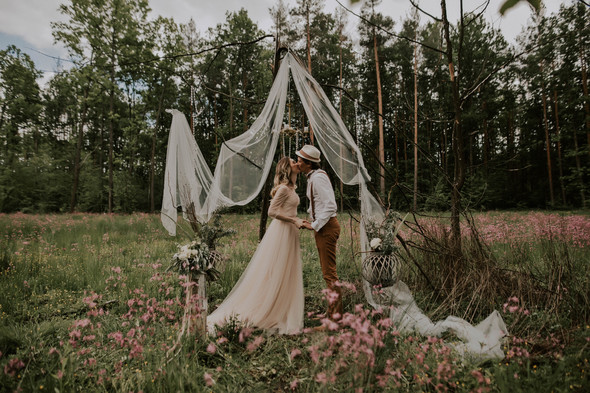 Вова и Аня, Wedding day - фото №45