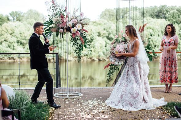 Teachers' wedding - фото №40