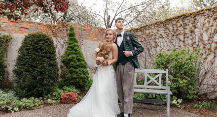 Скидка на свадебную съемку осенью 2021