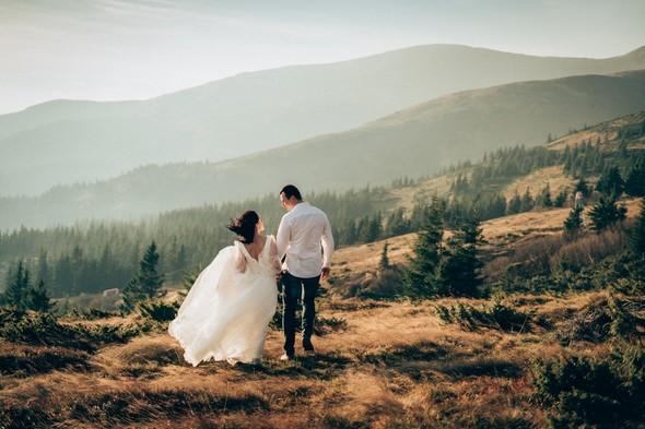 Свадебное лав стори в горах - фото №1