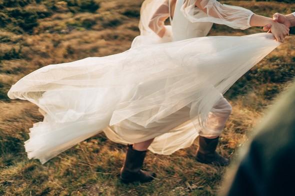 Свадебное лав стори в горах - фото №6