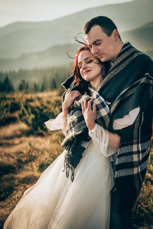 Свадебное лав стори в горах - фото №15