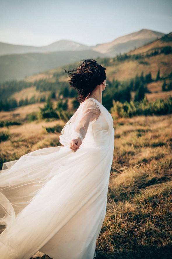 Свадебное лав стори в горах - фото №5