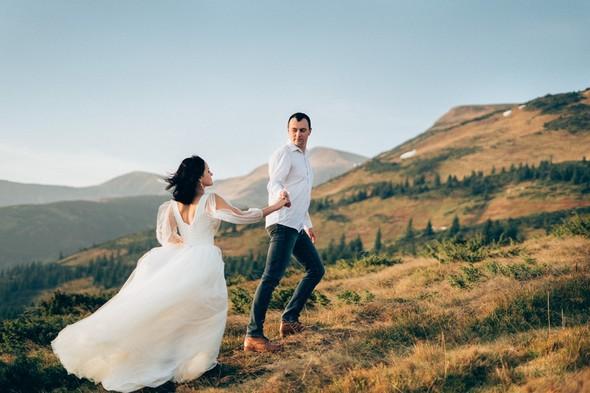 Свадебное лав стори в горах - фото №7