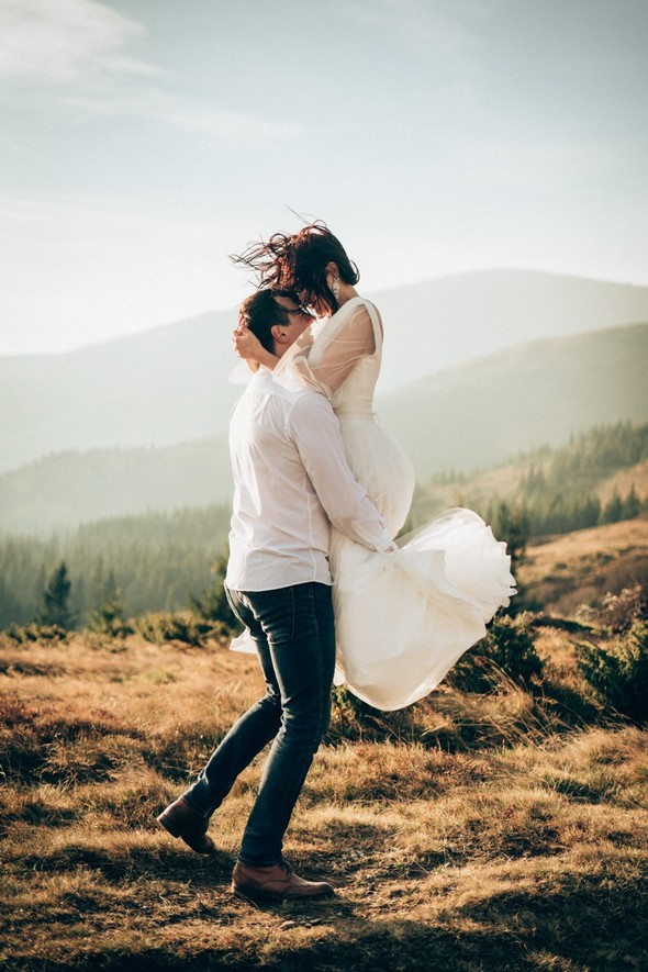 Свадебное лав стори в горах - фото №2