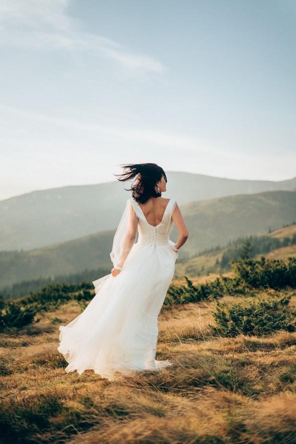 Свадебное лав стори в горах - фото №8