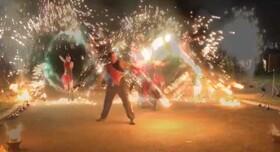 """Огненный Театр """"SANSARA"""". Фаер шоу, салюты🔥🔥🔥 - артист, шоу в Черкассах - фото 4"""