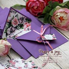 Paper & Joy - пригласительные на свадьбу в Киеве - фото 4