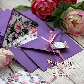 Paper & Joy - пригласительные на свадьбу в Киеве - портфолио 4
