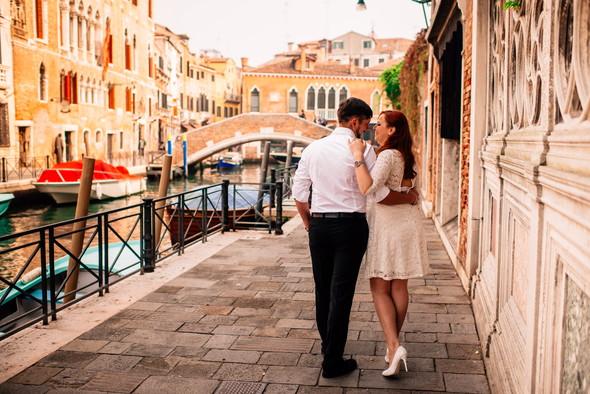 Love story in Venice - фото №6