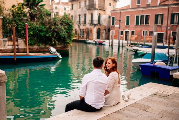 Love story in Venice - фото №11