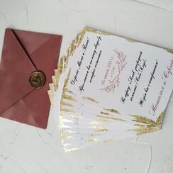Оля Приглашения - пригласительные на свадьбу в Днепре - фото 2
