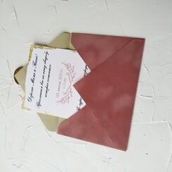 Оля Приглашения - пригласительные на свадьбу в Днепре - фото 1