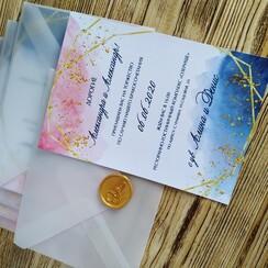 Оля Приглашения - пригласительные на свадьбу в Днепре - фото 4