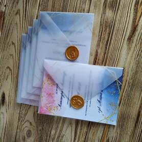 Оля Приглашения - пригласительные на свадьбу в Днепре - портфолио 5