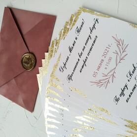 Оля Приглашения - пригласительные на свадьбу в Днепре - портфолио 3