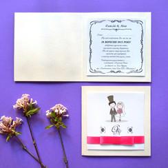 Wedding Woodraw - пригласительные на свадьбу в Черновцах - фото 1