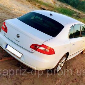 Skoda Superb white 4X4 - авто на свадьбу в Днепре - портфолио 6