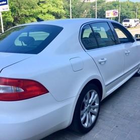 Skoda Superb white 4X4 - авто на свадьбу в Днепре - портфолио 4
