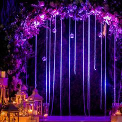 Violet event design - фото 4