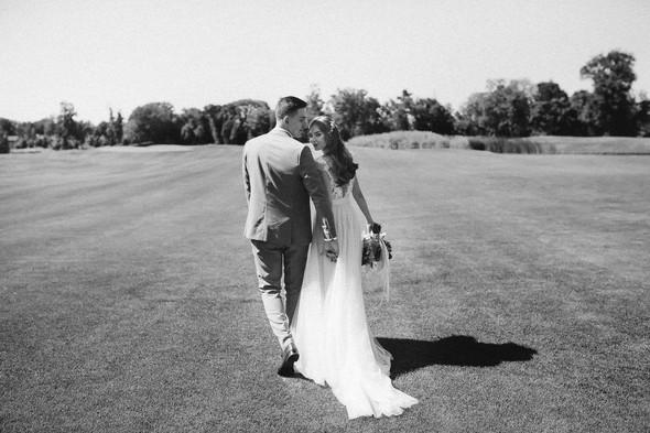 Милая семейная свадьба - фото №31