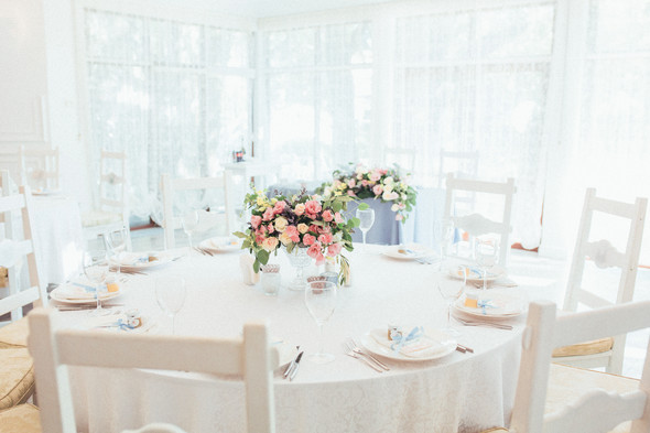 Милая семейная свадьба - фото №33