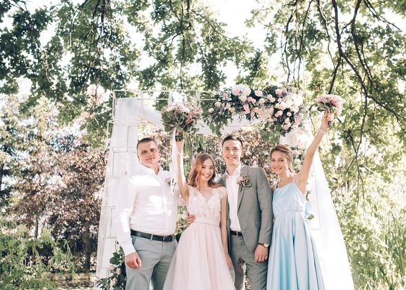 Милая семейная свадьба - фото №14