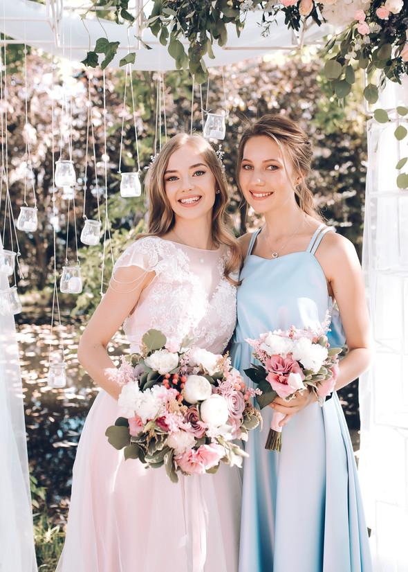 Милая семейная свадьба - фото №34