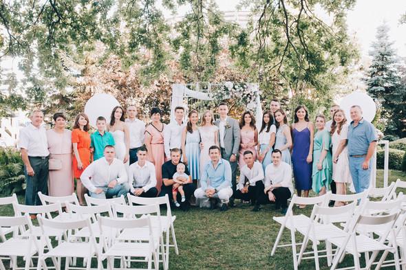 Милая семейная свадьба - фото №19