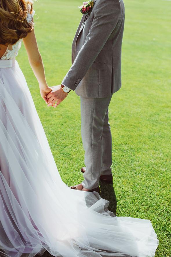 Милая семейная свадьба - фото №32