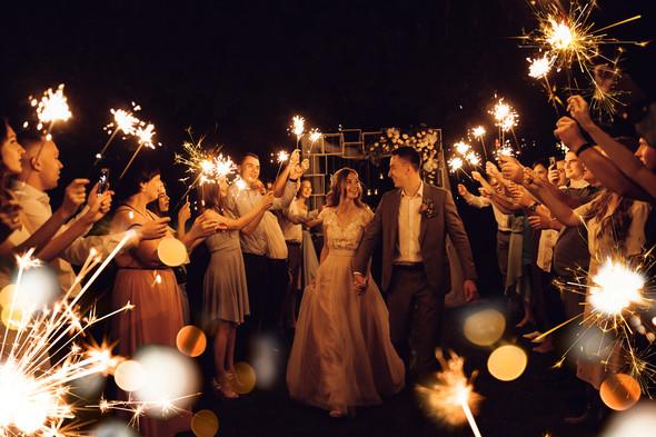 Милая семейная свадьба - фото №28