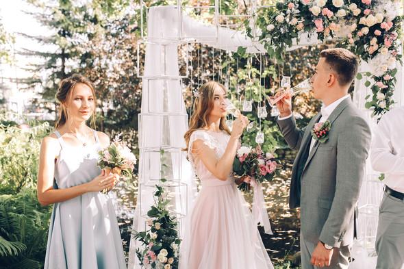 Милая семейная свадьба - фото №13