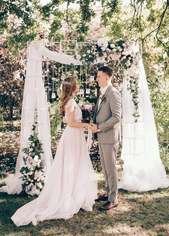 Милая семейная свадьба - фото №15