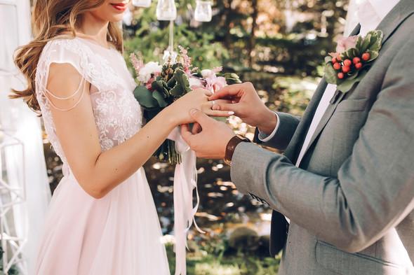 Милая семейная свадьба - фото №12