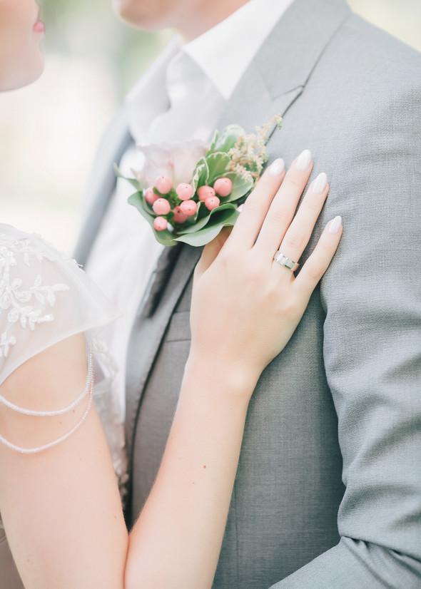 Милая семейная свадьба - фото №2