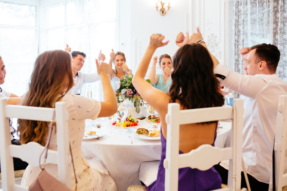 Милая семейная свадьба - фото №36
