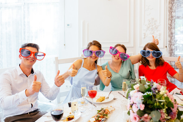 Милая семейная свадьба - фото №44