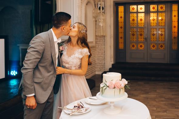 Милая семейная свадьба - фото №40
