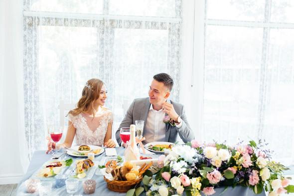 Милая семейная свадьба - фото №35