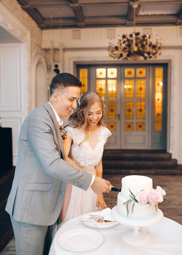 Милая семейная свадьба - фото №39