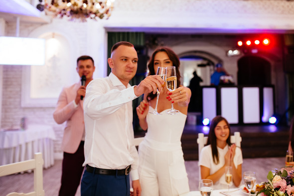 Милая семейная свадьба - фото №25