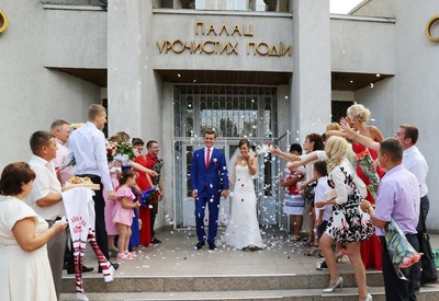 Днепровский ЗАГС Киева - портфолио 4