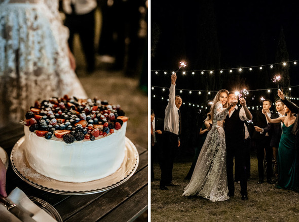 Tuscany Wedding - фото №96