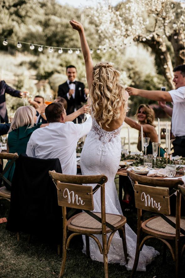 Tuscany Wedding - фото №76