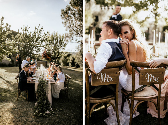 Tuscany Wedding - фото №73
