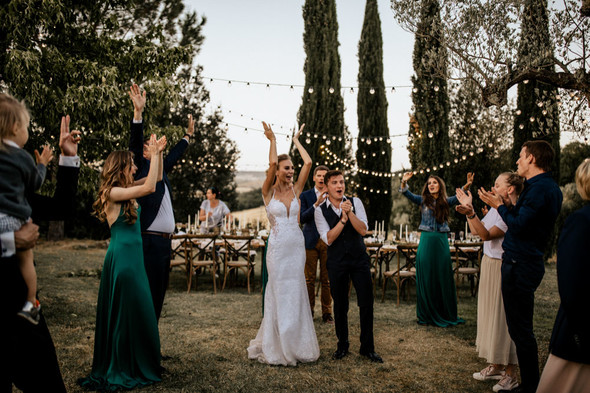 Tuscany Wedding - фото №83