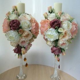 Свадебные свечи и композиции